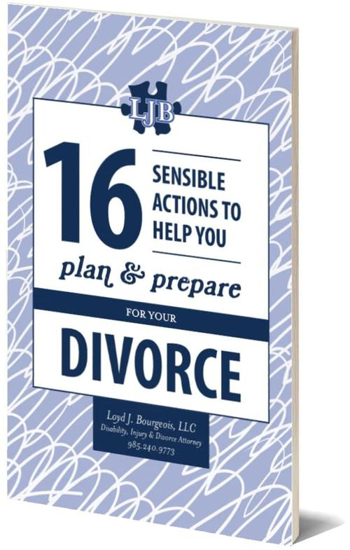 "Get Your Copy of ""16 Sensible Actions to Help You Plan and Prepare for Your Divorce"""
